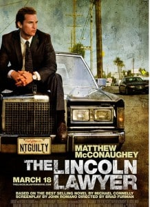 Lincoln Lawyer movie poster