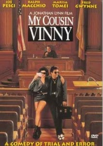 "Movie Poster of ""My Cousin Vinny"""