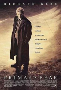 "Richard Gere Stars in the Movie, ""Primal Fear"""