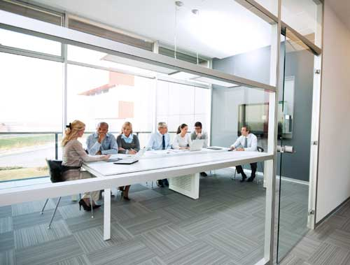 people meeting in conference room