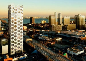 Cor building in Miami