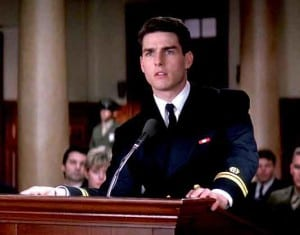 "Tom Cruise in the Movie, ""A Few Good Men"""