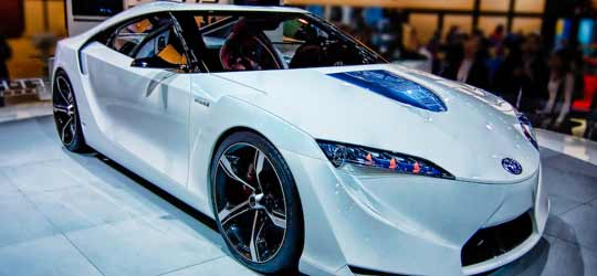 A new Toyota sports car