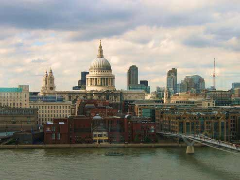 St. Paul's Cathedral in London underwent a remodel that took 15 years to complete