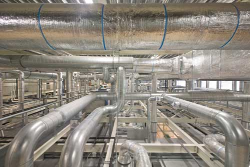 an elaborate view of an HVAC system