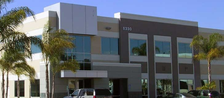 Ivey Engineering's office building in San Diego, California