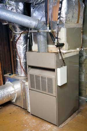 HVAC unit of a home